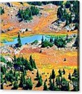 View Of Lake Acrylic Print