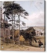 View Of London From Greenwich Park, 1842 Acrylic Print