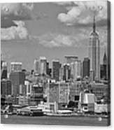 View Of Nyc Acrylic Print