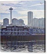View Of Pier 70 Acrylic Print