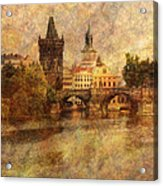 View Of Prague Acrylic Print