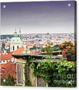 View Of Prague Acrylic Print