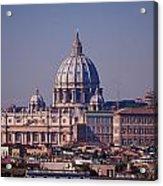 View Of Rome 2013 Acrylic Print