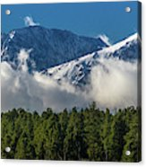 View Of San Juan Mountains With Clouds Acrylic Print