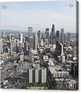 View Of Seattle Acrylic Print