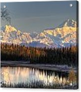View Of Southside Mount Mckinley And Acrylic Print