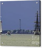 Windward View Of The Battery Acrylic Print