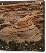 View Of The Canyon Acrylic Print