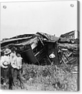 View Of The Great Railroad Wreck, The Acrylic Print