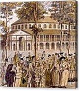 View Of The Jubilee Ball, Ranelagh Acrylic Print