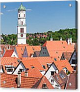 View Of The Old Town With St. Martins Acrylic Print