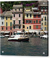 View Of The Portofino, Liguria, Italy Acrylic Print