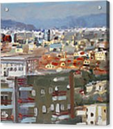 View Of Tirana From Dajti Mountain Acrylic Print