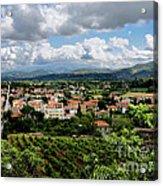 View Of Tuscany Acrylic Print