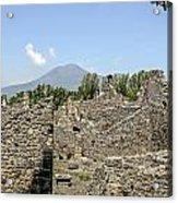 View Of Vesuvius Acrylic Print