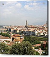 View Over Florence Acrylic Print