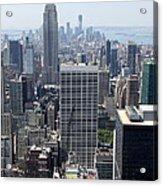 View Over Manhattan I Acrylic Print