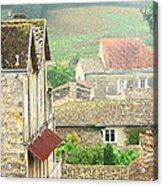 View Over Saint Emilion France 1 Acrylic Print