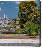 View To Haifa Acrylic Print