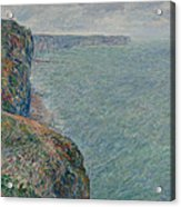 View To The Sea From The Cliffs Acrylic Print