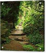 View To The Secret Garden Acrylic Print