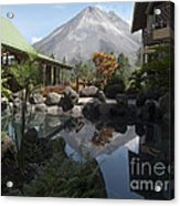 Viewing Arenal Volcano Acrylic Print