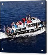 Views From Santorinia Greece Acrylic Print
