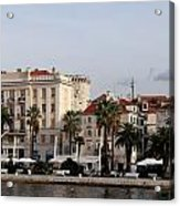 Views Of Split Croatia Acrylic Print