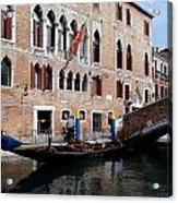 Views Of Venice Acrylic Print