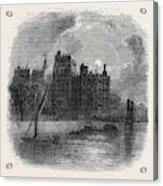 Views On The Embankment, London, 1870 Acrylic Print