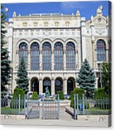 Vigado Concert Hall In Budapest Acrylic Print