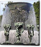 Vigelands Fountain 2 Acrylic Print