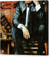Viggo Posed In A Chair Acrylic Print