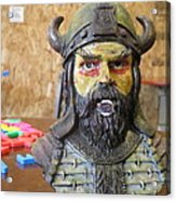 Viking 06 - Little Mouth - Animation Project Acrylic Print