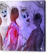 Been To The Ball And Going To The Nachspiel  Acrylic Print by Hilde Widerberg