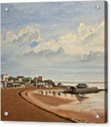 Viking Bay Broadstairs Kent Uk Acrylic Print by Martin Howard