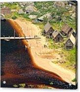 Viking Village Acrylic Print