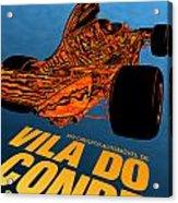 Vila Do Conde Portugal 1972 Grand Prix Acrylic Print