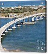 Vilano Bridge St Augustine Florida Acrylic Print