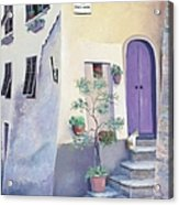 Villa Degli Algeri Tuscany Acrylic Print