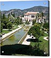 Villa Ephrussi De Rothschild And Garden Acrylic Print