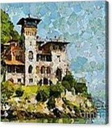 Villa La Gaeta Acrylic Print