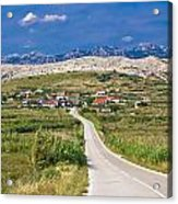 Village Gorica Island Of Pag Acrylic Print