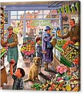 Village Greengrocer  Acrylic Print