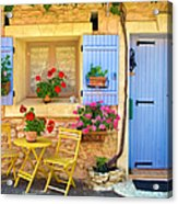 Village House In The Tiny Luberon Acrylic Print
