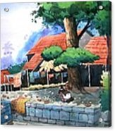 Village House Acrylic Print