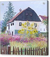 Village Of Kumrovec Croatia Acrylic Print