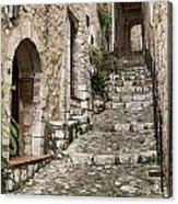 Village Of Saint Paul De Vance Acrylic Print