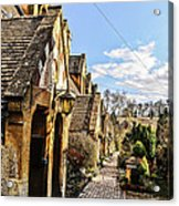 Village Of Winchcombe Acrylic Print