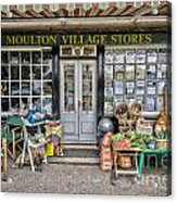 Village Stores 2 Acrylic Print